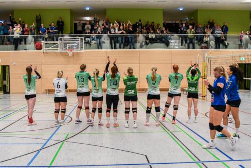 Finales Heimspiel vs. L.E. Volleys